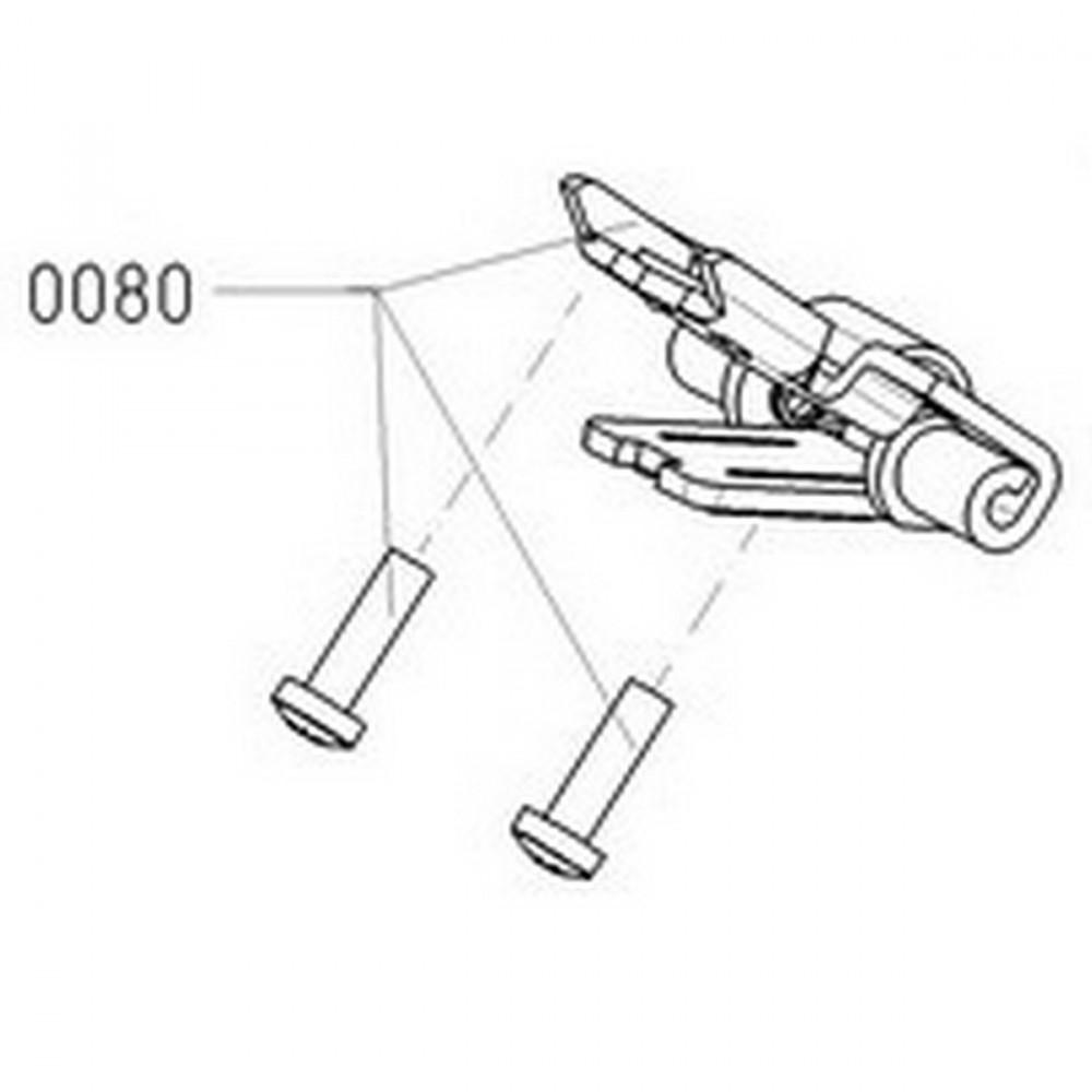 Moser 1245-7030 прижим ножа с винтами