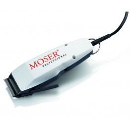 Триммер для стрижки и окантовки Moser 1411-0086 mini, цвет белый