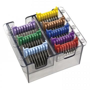 Набор металлических насадок Moser 1233-7050, 8шт