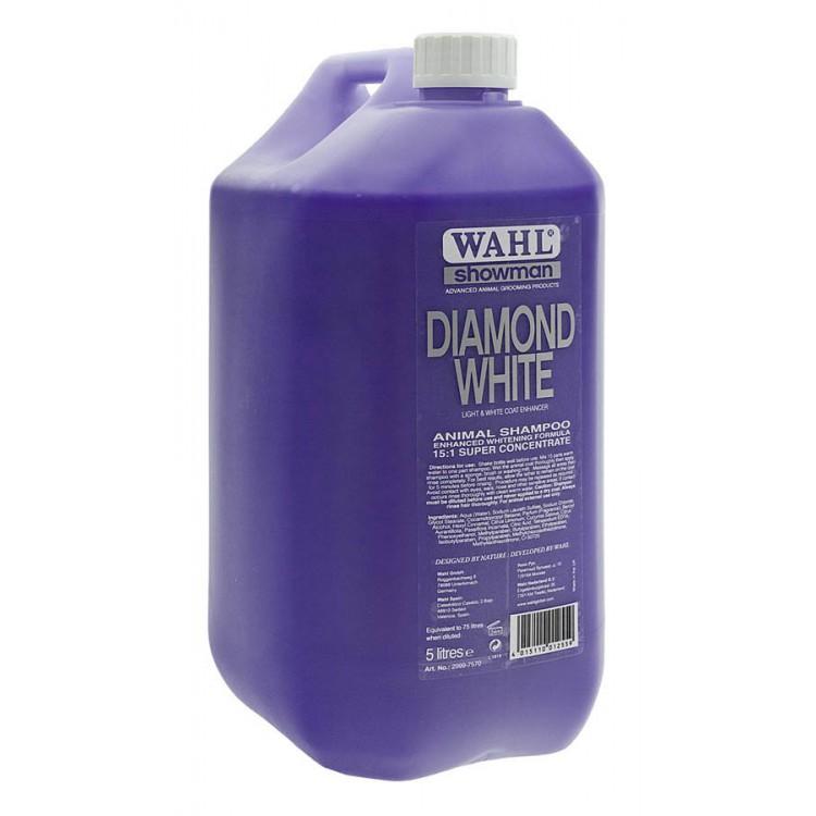 Шампунь для животных (концентрат 1:15) Wahl Diamond White, 5л
